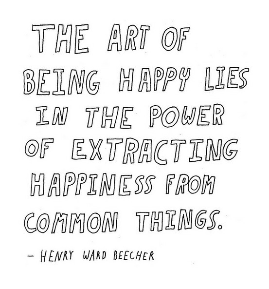 The art of happiness (1/6)