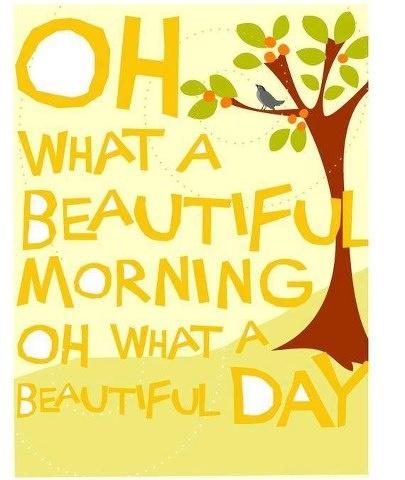 joyful morning